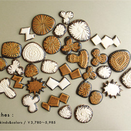 BIRDS' WORDS - brooch