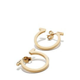 Salvatore Ferragamo - Mini Gancini Earrings