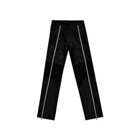LPD NEW YORK - Leather Layer Trackpants