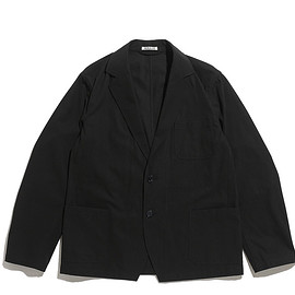AURALEE - Finx Hard Twist Gabardine Jacket-Black