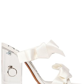 Maison Margiela - FW2018 105MM MARRY ME SATIN SANDALS