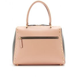 MARNI - TWO-TONE BOLTED LEATHER TOTE
