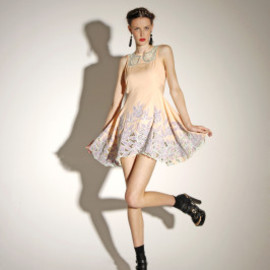 alice McCALL - Noeme Dress (Peche)