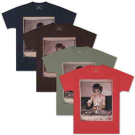 The Official Bruce Lee Shop - Bruce Lee DJ Dragon T-shirt by Bow & Arrow