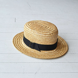 Imogene hat • straw boater hat • wide brimmed straw hat