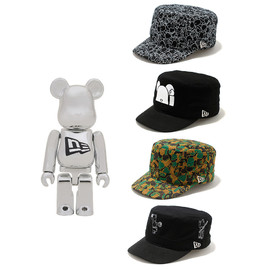 MEDICOM TOY - BE@RBRICK New Era® 100%
