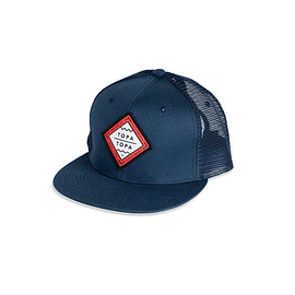Topa Topa Brewing Company - TRUCKER HAT – BLUE