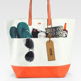 ANYA HINDMARCH - Natural Beach Tote
