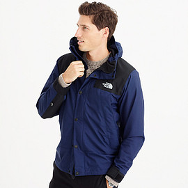 THE NORTH FACE, J.CREW - Mountain Jacket - Black/Blue