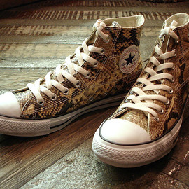"CONVERSE - [100TH ANNIVERSARY COLLECTION] ALL STAR® ""NATURAL-PYTHON"" HI"