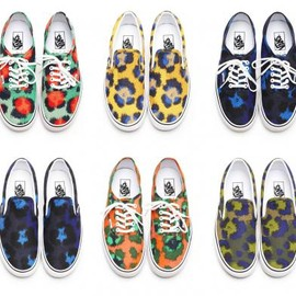 VANS - KENZO × VANS AUTHENTIC & SLIP-ON 2013 SPRING