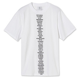VETEMENTS - Translated T-Shirt