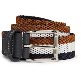 Anderson's - Anderson's Striped Woven Belt