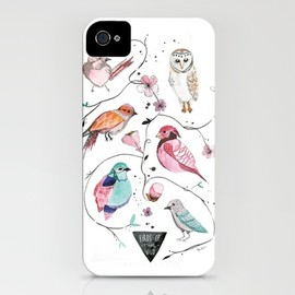 BIRDS OF THE WILD iPhone Case - BIRDS OF THE WILD iPhone Case