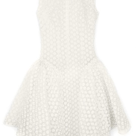 SIMONE ROCHA - Embellished Crinoline Dress With Double Drape Detail