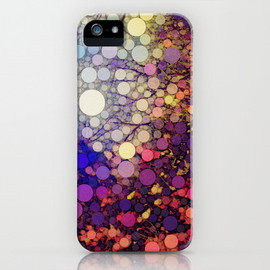 Society6 - Woodland Abstract iPhone & iPod Case