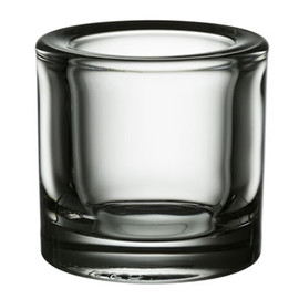 iittala - Kivi Glass Tea Light Holders (Clear) by Heikki Orvola