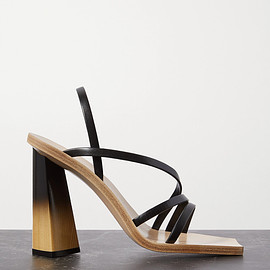 Givenchy - Leather slingback sandals(SS2020)