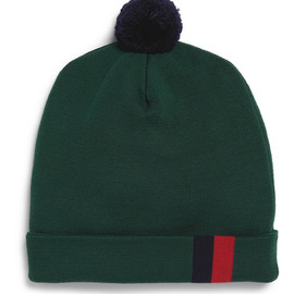 Band of Outsiders - Wool-Blend Beanie Bobble Hat