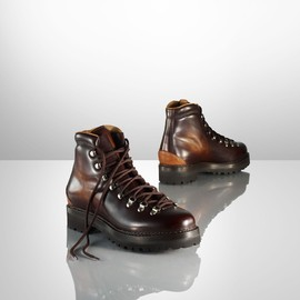 RALPH LAUREN - Fidel II Hand-Burnished Boot