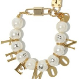 MONDAY EDITION - the moon pearl bracelet