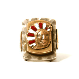VINTAGE MEXICO RING - 1950's~OLD MEXICO RING With INDIAN