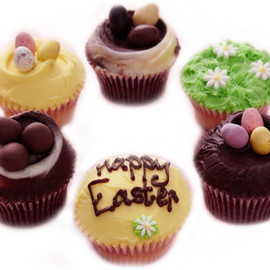The Hummingbird Bakery - Easter Cupcakes