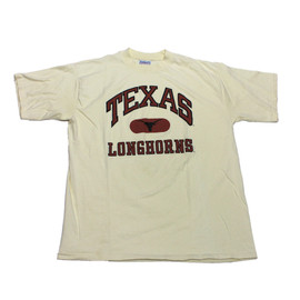 VINTAGE - Vintage 90s Texas Longhorns Shirt Made in USA Mens Size XL
