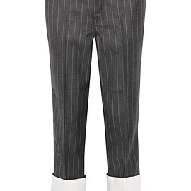 Loewe - Pinstriped wool straight-leg pants