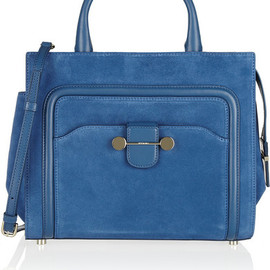 Jason Wu - Daphne 2 suede and leather tote
