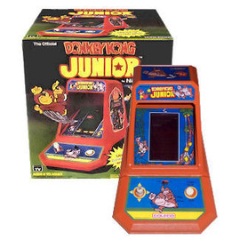 Coleco - Donkey Kong Jr Coleco Tabletop Electronic Arcade Game