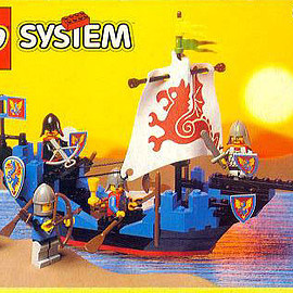 LEGO - 6057 Sea Serpent