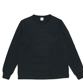 CAMBER - Max Weight Pocket LS T Shirt Custom-Black
