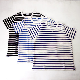 ordinary fits - 【Men's&Ladies'】ordinary fits オーディナリーフィッツ Border Tee ボーダーTシャツ