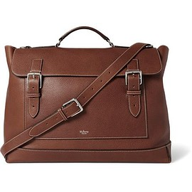 Mulberry - Grained-Leather Messenger Bag