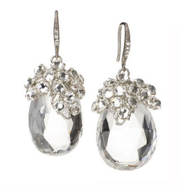 Elizabeth Bower - イヤリング Dew Drop Earrings: Featured Product Image