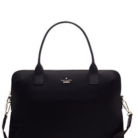 kate spade NEW YORK - classic nylon daveney laptop bag by kate spade new york