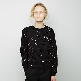 Carven - Embroidered Petal Sweatshirts