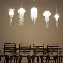 Glowing Jellyfish Lamps