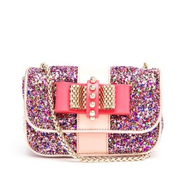 Christian Louboutin - sweet charity glister shoulder bag
