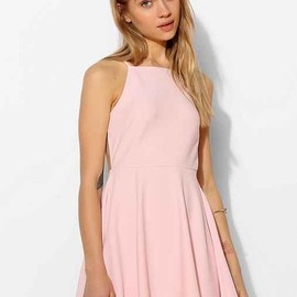 UO - Oh My Love Strappy-Back Skater Dress