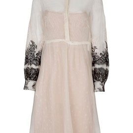 VALENTINO - EMBROIDERED SHIRT DRESS