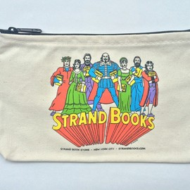 "Strand Book Store - Strand Pouch ""R Sikoryak"""