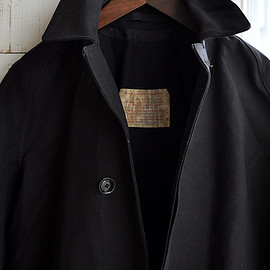 MACKINTOSH - British Railway Coat -Black