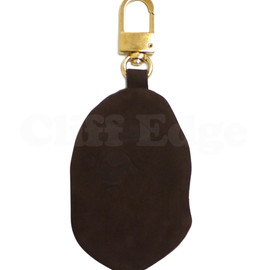 A BATHING APE - (エイプ)LEATHER APE COIN CASE [コインケース]【新品】BROWN