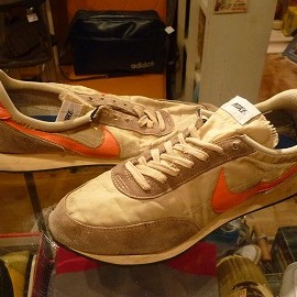"NIKE - 「<used>70's NIKE DAYBREAK beige/orange""made in USA"" size:US11(29cm) 11500yen」完売"