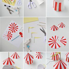 Oh Happy Day! - Circus Party Hats