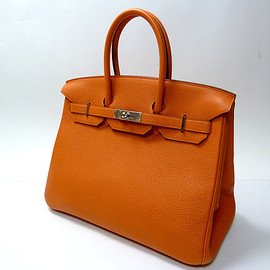 HERMES - birkin(35, togo, orange)