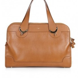 ANYA HINDMARCH - SEYMOUR TOP HANDLE | TAN