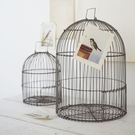 Cox & Cox - Two Bird Cages - NEW